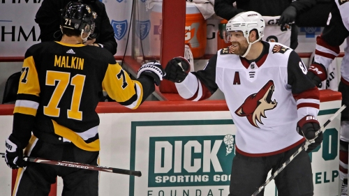 Penguins ride Jarry to win over Coyotes in Kessel's return