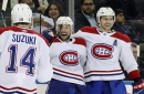 Canadiens clip Rangers thanks to Nate Thompson's late 3rd-period marker