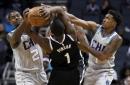 Harris, Jordan lead Nets past Hornets, 111-104