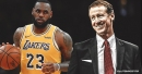 Blazers' coach Terry Stotts reacts to Lakers superstar LeBron James' playmaking, leadership