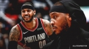 Blazers' Carmelo Anthony passes Shaquille O'Neal on the all-time free throws made list