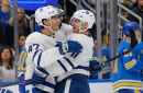Leafs strike winning note as Matthews, Hyman down Blues