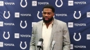 Jacoby Brissett talks to media after loss to Tampa Bay Buccaneers
