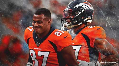 Broncos news: Noah Fant has a bruised foot and hip irritation