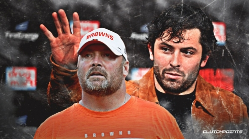 Freddie Kitchens says Baker Mayfield should not be addressing injuries to other players