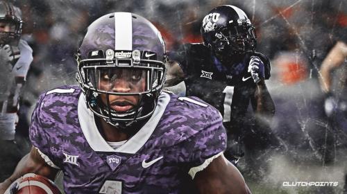 TCU WR Jalen Reagor and the Panthers would be an excellent fit