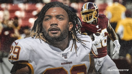 Redskins' Derrius Guice's injury 'could've been worse' says Adrian Peterson