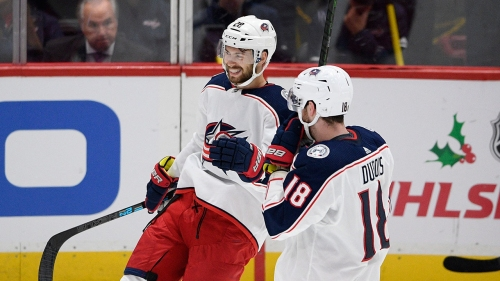 Blue Jackets snap skid, end Capitals' winning streak at six