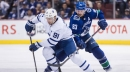 Maple Leafs small favourites at Canucks on Tuesday NHL odds