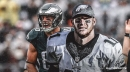 Eagles QB Carson Wentz finds TE Zach Ertz for TD to beat the Giants in overtime