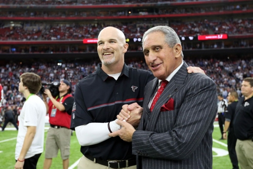 Like it or not, Arthur Blank may give Dan Quinn one more chance