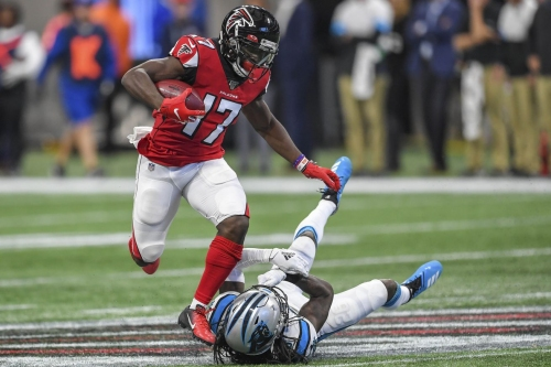 Falcons impressive receiver depth on display against the Panthers