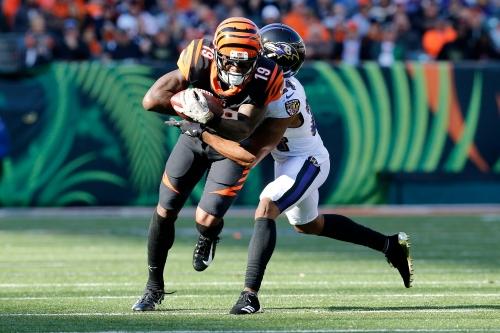 Cincinnati Bengals place WR Auden Tate (knee) on injured reserve