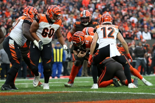 Cincinnati Bengals offense routinely fizzles out in red zone this season