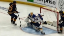 Reinhart chips one past Allen just 18 seconds into game