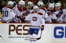 Canadiens end Jarry's shutout streak, race past Penguins