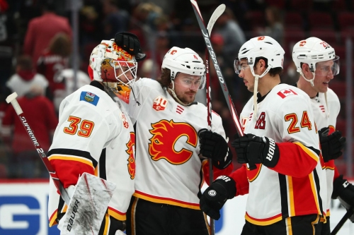 Red Hot Flames with 6 Straight Wins - CGY (5) @ ARI (2)