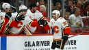 Flames' Zac Rinaldo makes tone-setting impact in win over Coyotes
