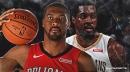 Teams 'monitoring' Derrick Favors for potential trade