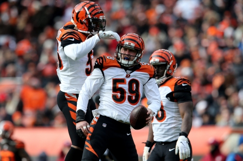 A victory on Sunday versus the Patriots 'would be a real big deal' for 1-12 Bengals