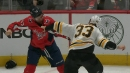 Zdeno Chara and Tom Wilson have a heavyweight fight after cross-check