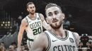 Celtics star Gordon Hayward has a 'pretty good headache' after blow to nose vs. Pacers