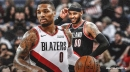 Damian Lillard says it has been a 'joy' to have Carmelo Anthony with Blazers