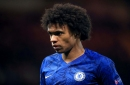 Chelsea transfer news: Willian confirms talks over new contract and 'hopes for good news soon'