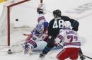 Sharks lose sixth straight, as Rangers spoil Bob Boughner's debut as interim coach