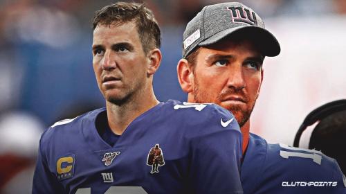 Giants QB Eli Manning will start against the Redskins