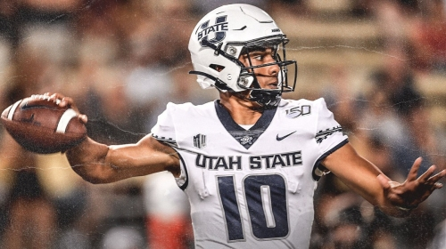 Utah State QB Jordan Love could be an intriguing second-round target for the Colts