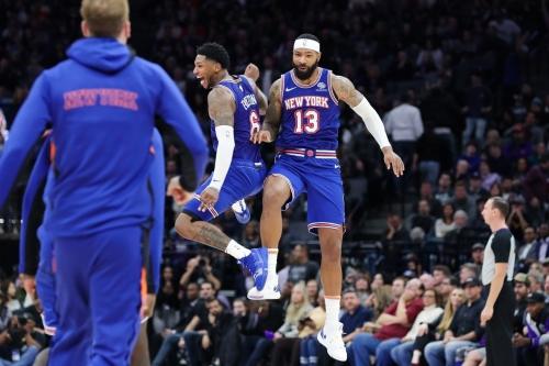 """Knicks 103, Kings 101: """"They're so happy. I'm happy."""""""