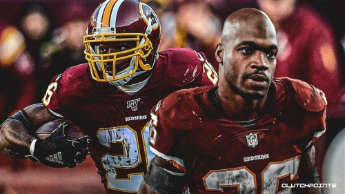 Redskins RB Adrian Peterson set to move into top-five all-time in rushing