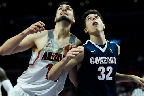 Gonzaga vs. Arizona score predictions