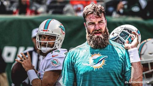 Dolphins QB Ryan Fitzpatrick may lead Miami in rushing