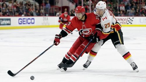 NHL Live Tracker: Hurricanes vs. Flames