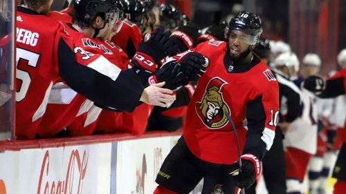Duclair completes hat trick in overtime as Senators edge Blue Jackets