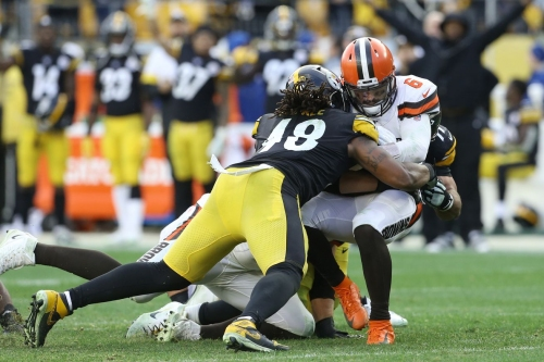 The 2019 Steelers defense possesses one of the best sack rates in the NFL