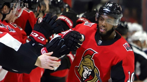 Senators' Anthony Duclair caps hat trick with OT winner against Blue Jackets