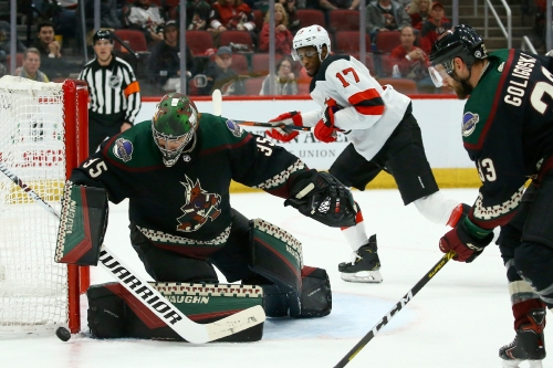 Den's Digest: What went wrong in Coyotes' loss to Devils