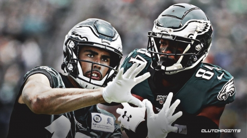 Eagles inexperienced wide receiver corps vs. Redskins didn't record a reception before this season