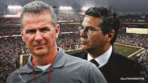 Urban Meyer spotted with Redskins' Dan Snyder at FedEx Field