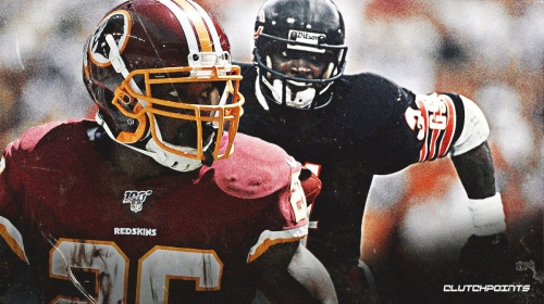 Video: Redskins' Adrian Peterson ties Walter Payton for fourth-most rushing TD's in NFL history