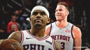 Sixers' Tobias Harris thinks Blake Griffin was guilty of 'a little dirty play' when they got tangled up
