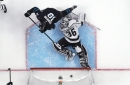 Sharks blow late lead, suffer crushing OT loss to Los Angeles Kings