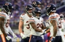 Bears end 8-8 season on high note with last-second win over Vikings