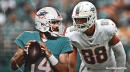 Video: Ryan Fitzpatrick finds Mike Gesicki for clutch TD to give Dolphins the win against the Patriots