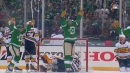 Blake Comeau rips one home to send Cotton Bowl crowd into frenzy