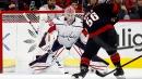 Ilya Samsonov stops 38 shots as Capitals hold off Hurricanes