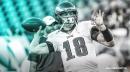 Eagles' Josh McCown becomes 2nd QB to throw 1st postseason pass over age of 40